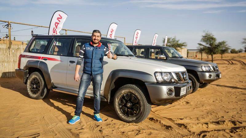Test Drive Nissan Patrol Super Safari 2017 Arabwheels