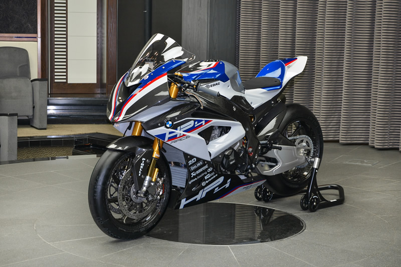 The New Bmw Hp4 Race Arrives At Abu Dhabi Motors One Of Just 750