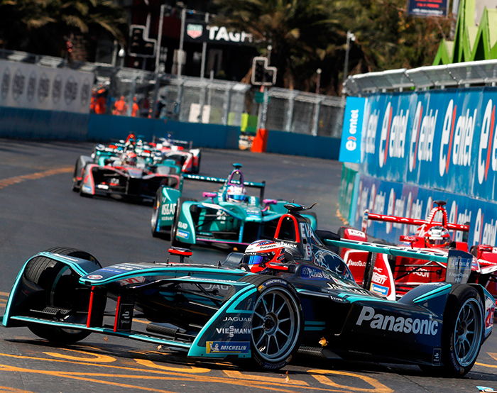 February 11 2018 Panasonic Jaguar Racing Delivered Another Encouraging Points Haul With Both Drivers Fighting Their