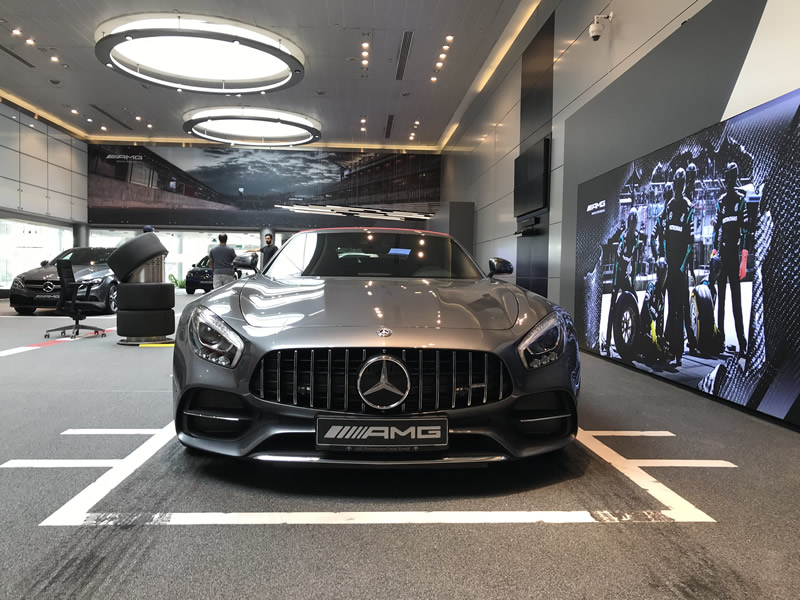 Mercedes Benz Kuwait Reveals New Amg Performance Center