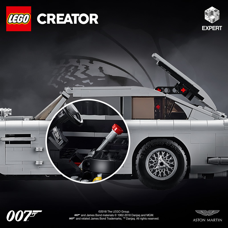 Uncover the secrets of 007's most famous vehicle with the