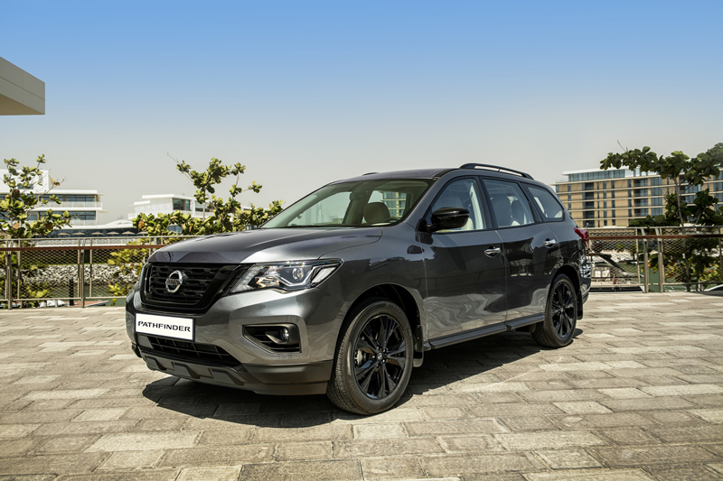 2019 Nissan Pathfinder Midnight Edition - ArabWheels