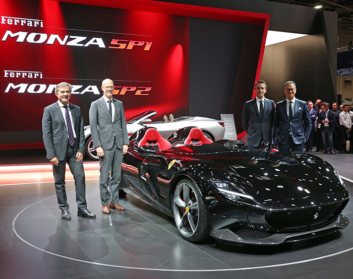 a3fe8fc2d78 Ferrari Monza SP1 and SP2  the first in a new concept of limited ...
