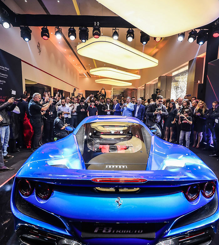 Ferrari F8 Wheels: The Most Powerful V8 Ferrari Makes Its Debut In Beirut As