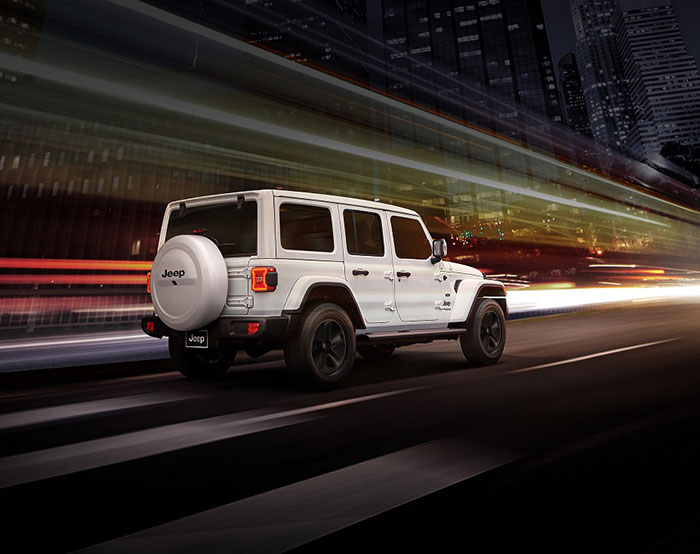 The Night Eagle Trim Is Back On The New Jeep Wrangler Arabwheels